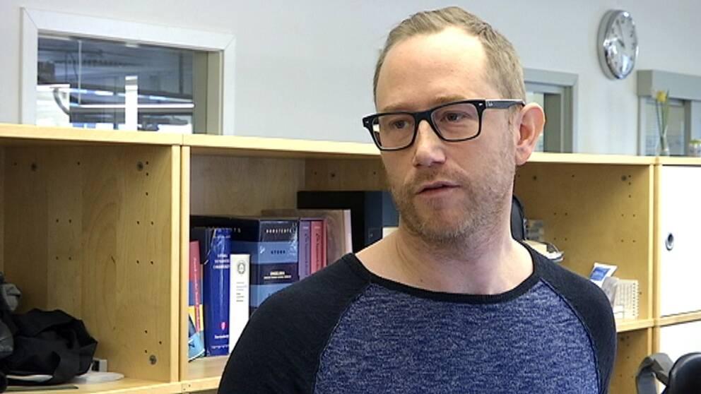 Anders Bäckström, redaktionschef och ansvarig utgivare för SVT Nyheter Västerbotten