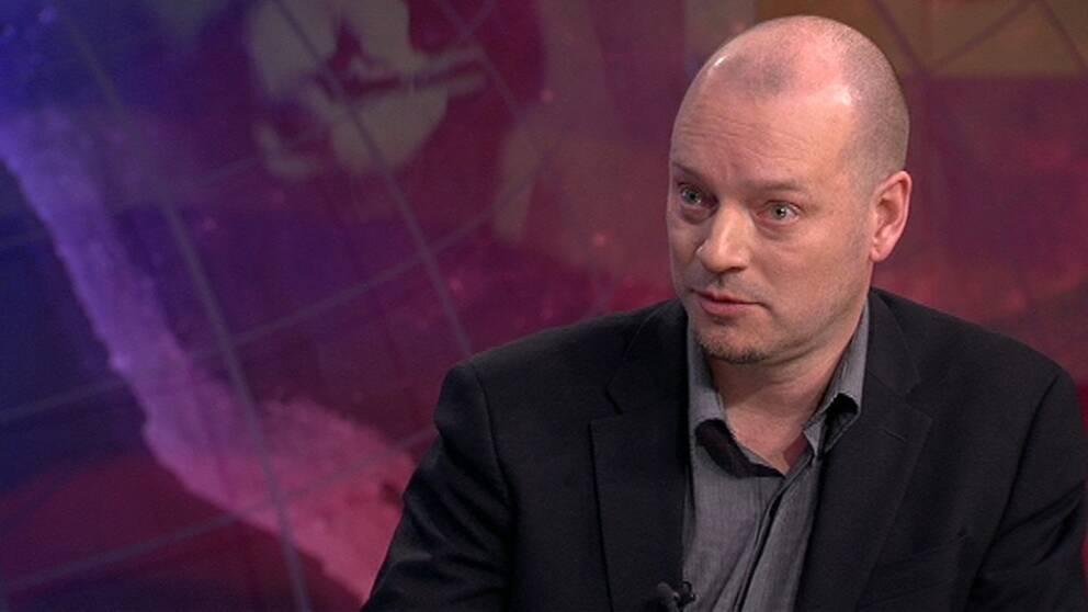 Jesper Strömbäck, professor i journalistik vid Göteborgs universitet. Arkivbild.