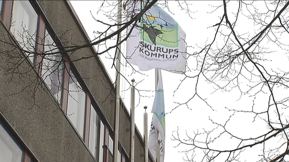 SKurups kommun – flagga