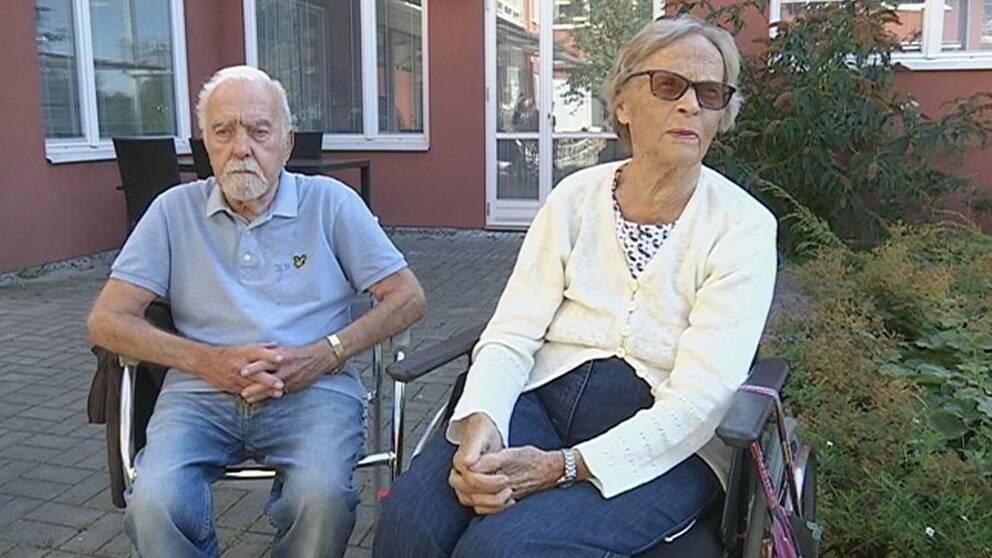 Inge Nordensten och Ann Marie Ruthman