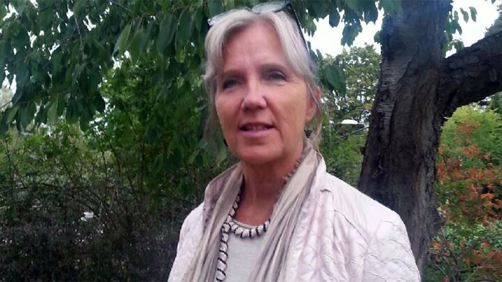 skolergonomen och fysioterapeuten Monica Wester