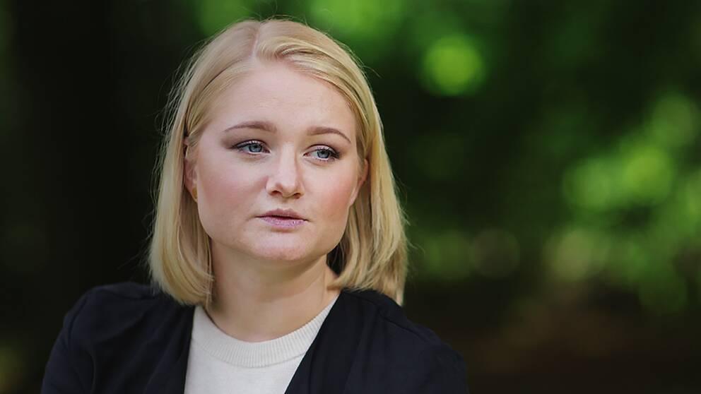 Sofia Österlöf klarade inte att göra motstånd mot våldtäktsmannen.