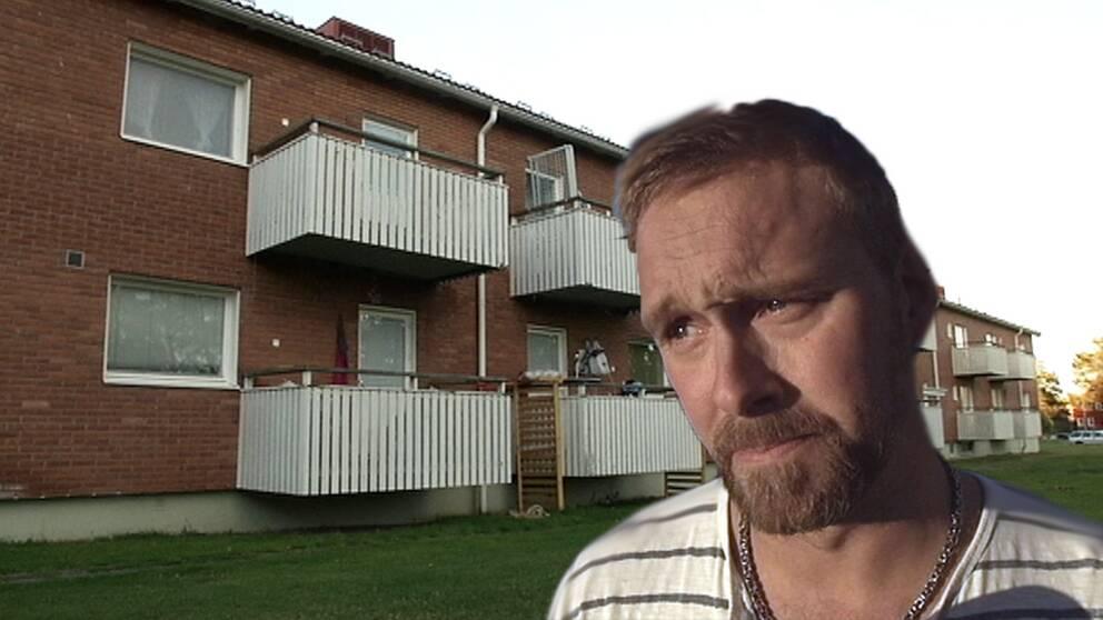 Rickard Stenman är vd för fastighetsbolaget Nasakronan.