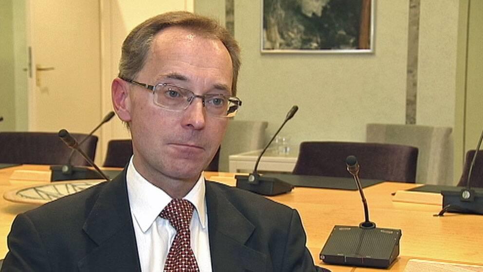 Gunnar Axén (M), ordförande i socialförsäkringsutskottet