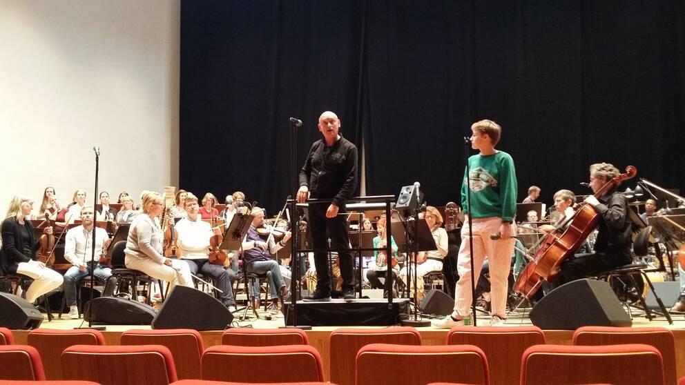 Hyllningskonsert för Björk i konserthuset, Örebro