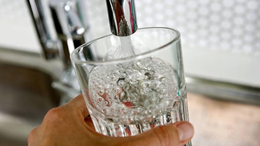 Dricksvattenglas (foto TT)