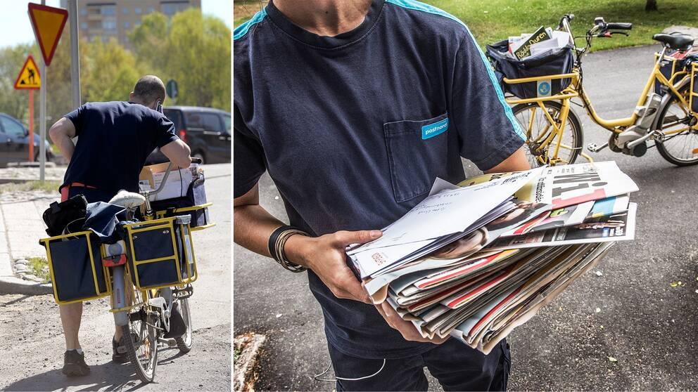 Posten, brev, brevbärare, postnord