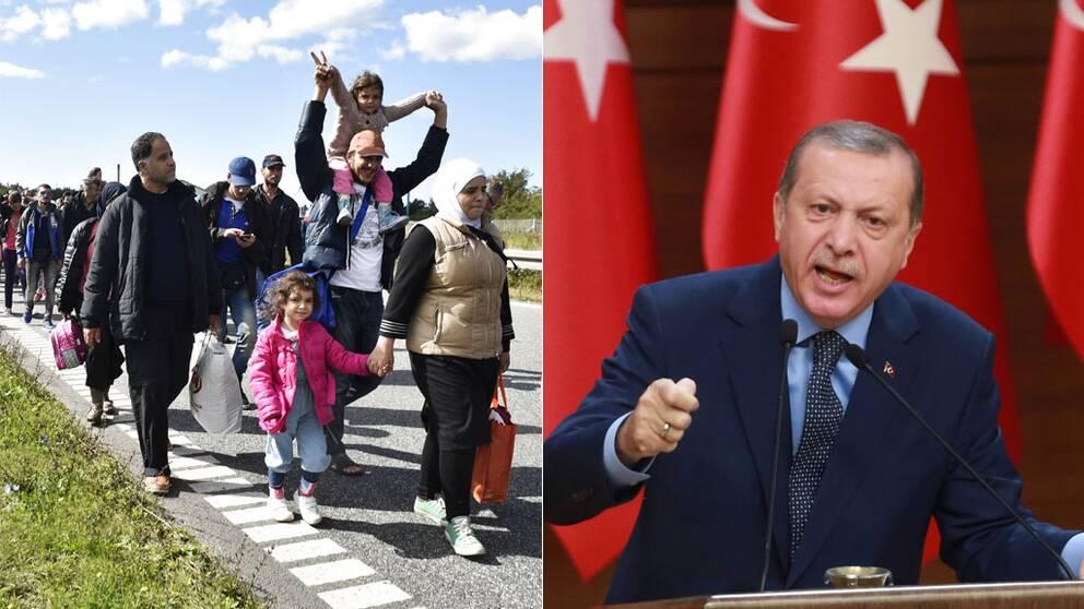 Flyktingar och Erdogan
