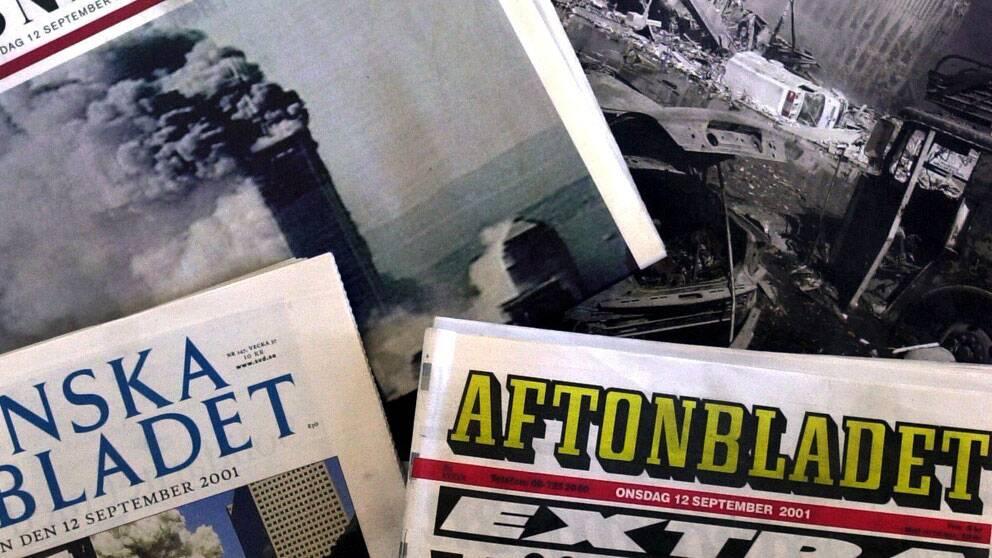 Upplagan minskar för dagstidningarna