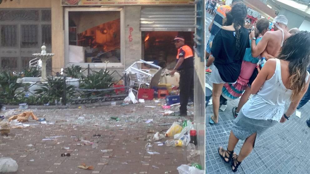 gasexplosion Malaga