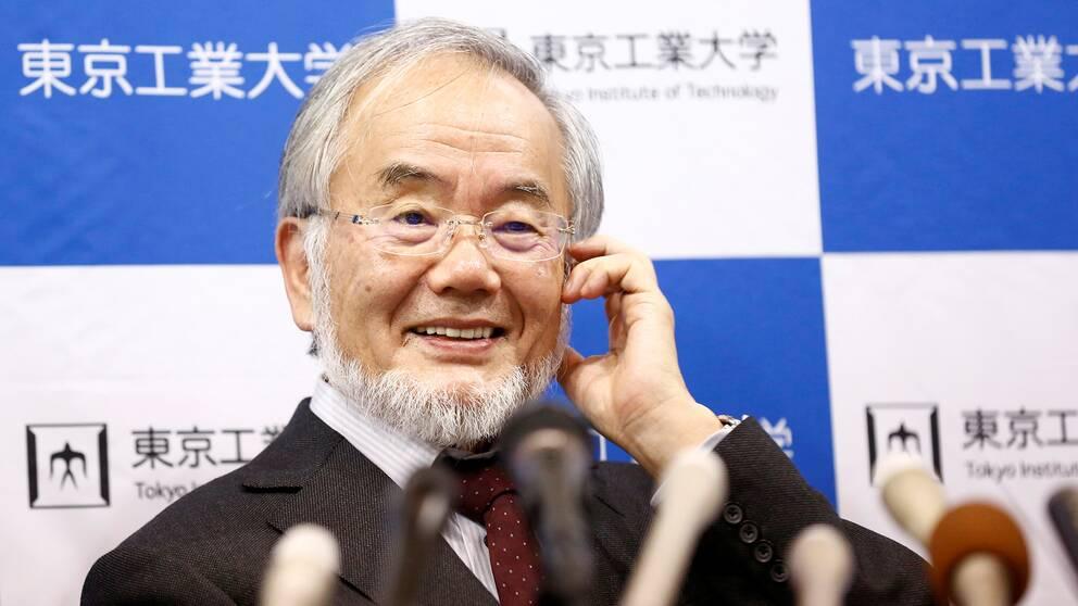 Yoshinori Ohsumi,