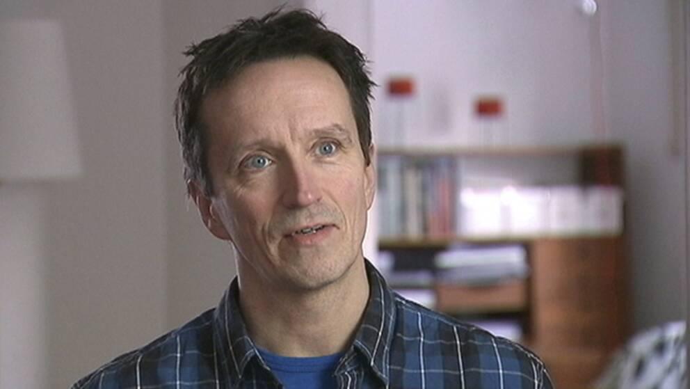 Fredrik Sahlin. Inför Oscarsgalan. Foto: SVT
