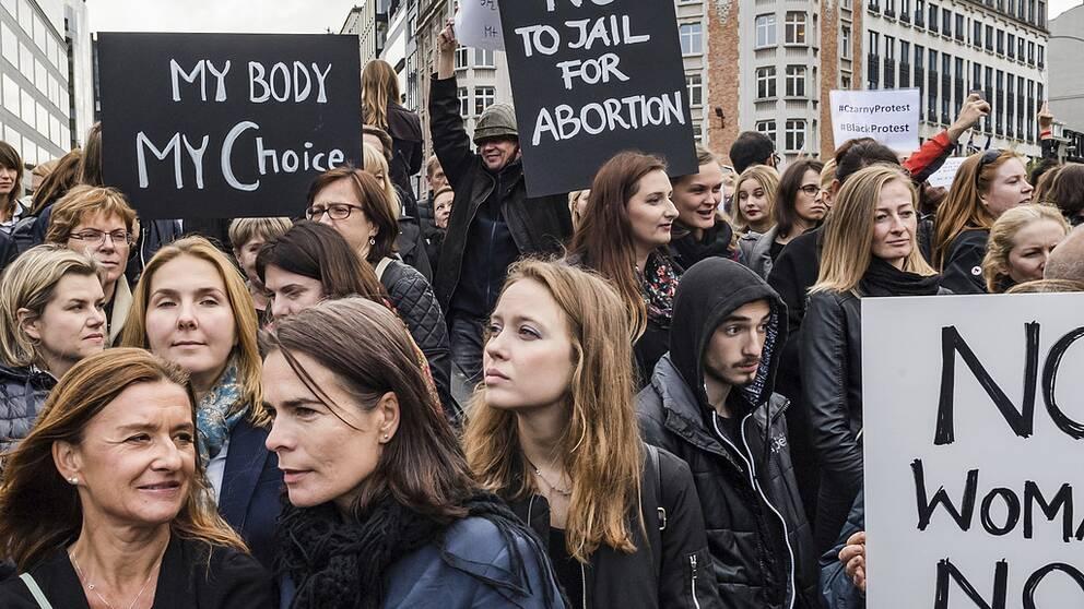 Abortlagstiftningen i varlden