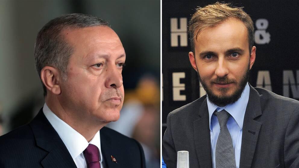 Jan Böhmermann och Erdogan
