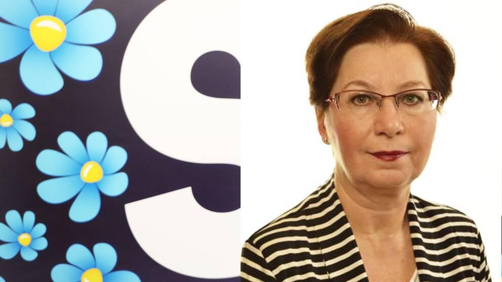 Anna Hagwall är riksdagsledamot för SD