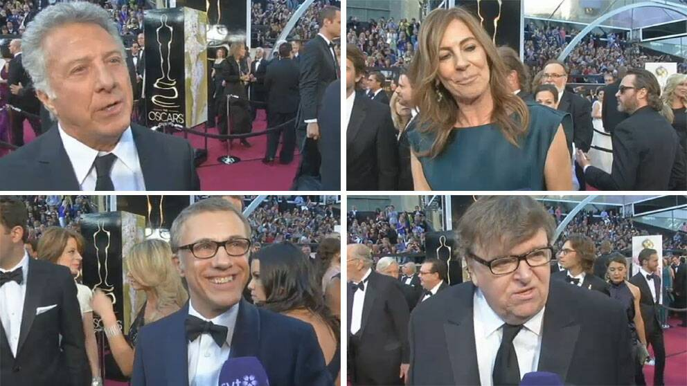 Dustin Hoffman, Kathryn Bigalow, Christoph Waltz och Michael Moore lovprisar alla Malik Bendjellouls Oscarsvinnare.