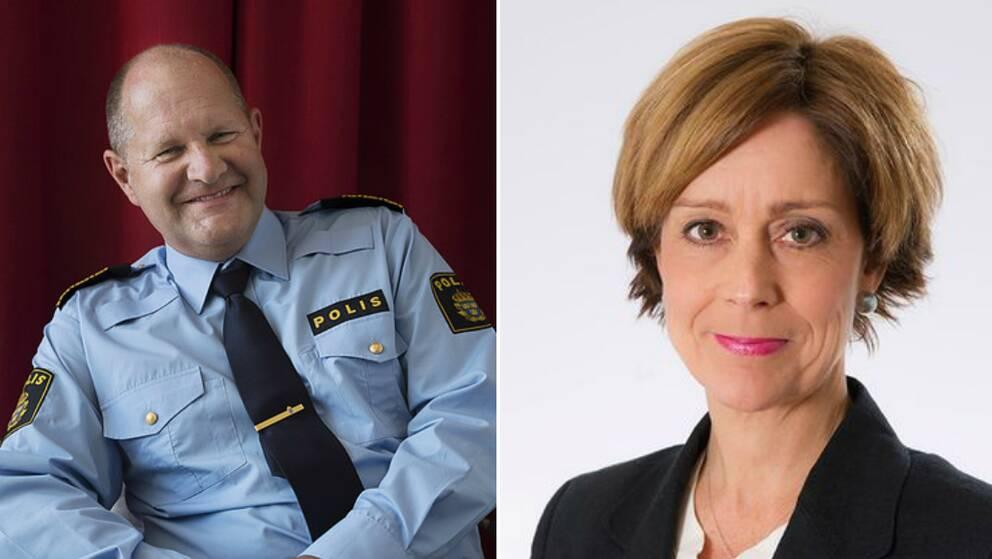 Dan Eliasson och Unni Jerndal