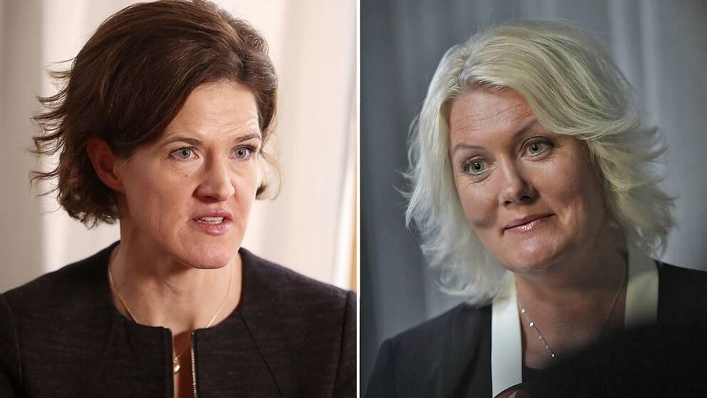Anna Kinberg Batra och Lena Rådström Baastad