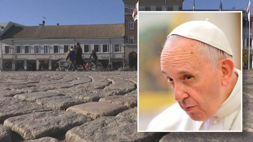 Påvebesöket – det största som hänt Lund sedan medeltiden