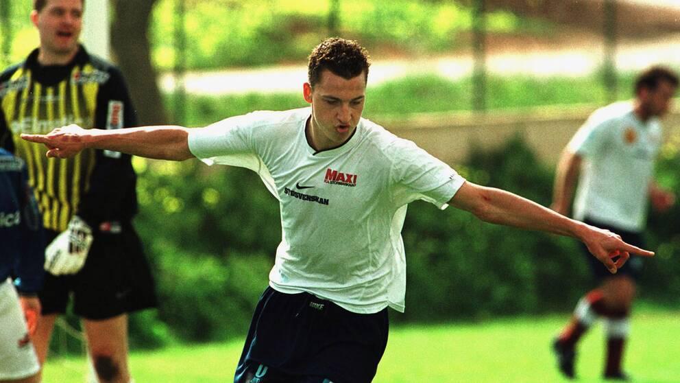Zlatan Ibrahimovic, år 2000.