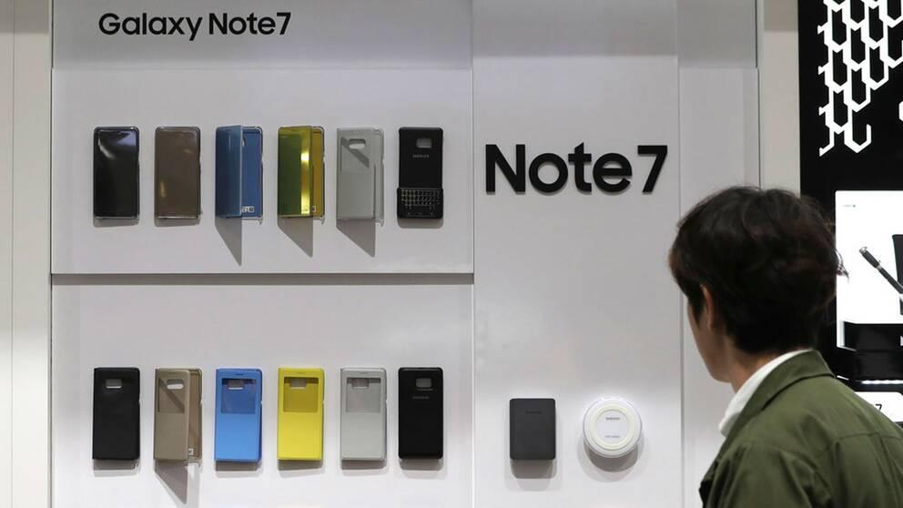Prototyper av telefonen.
