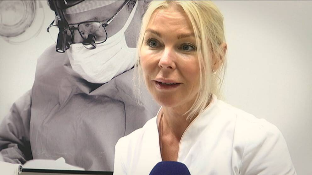 Marlene Horngård, injektionssköterska i Malmö.