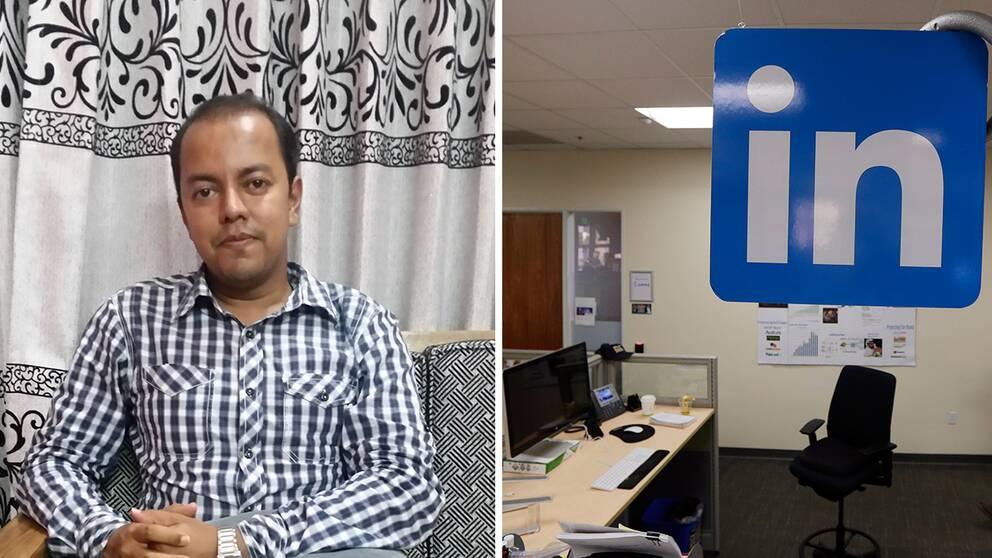 Syed Latif och Linkedin.