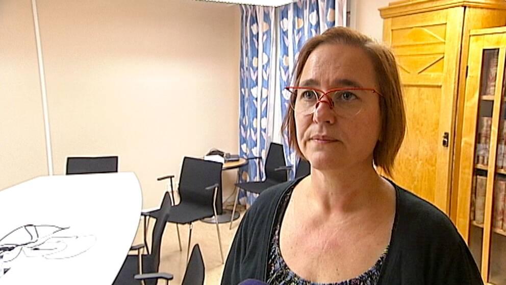 Marita Hilliges är rektor på Högskolan Dalarna