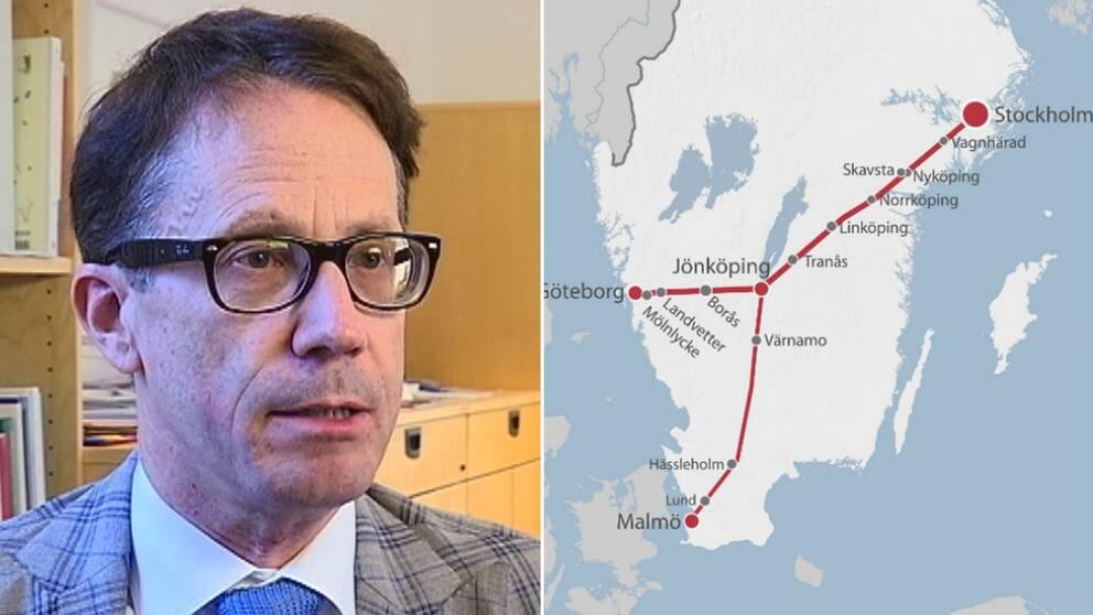 Jan Grönlund, landstingsdirektör