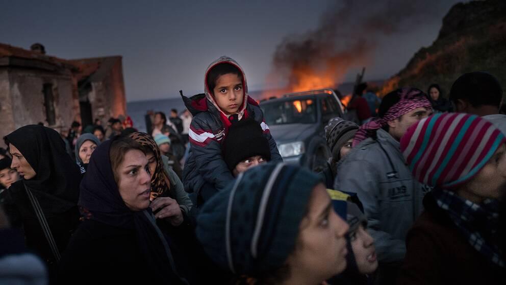 Kobane, Syrien.