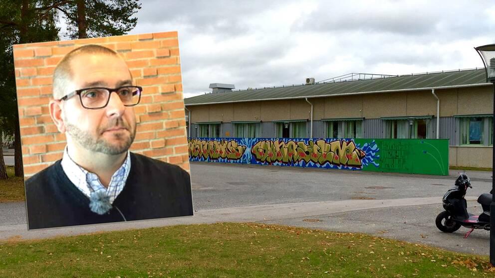 Jörgen Jonsson, rektor på Västerviks gymnasium säger att det kan krävas att man tar in poliser på skolan efter det stora bråket förra veckan.