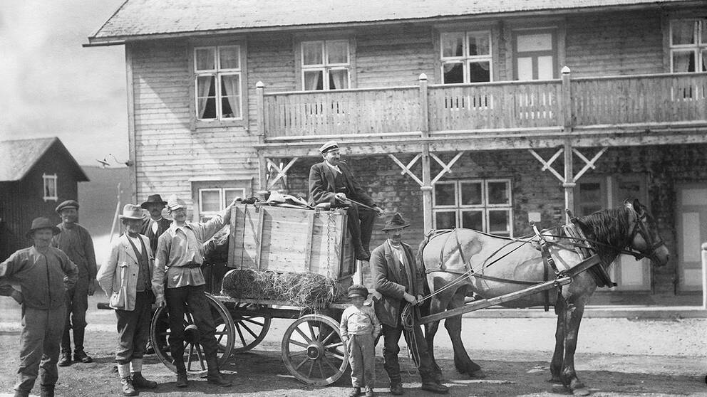 utsättning av bävrar i Sverige 1922