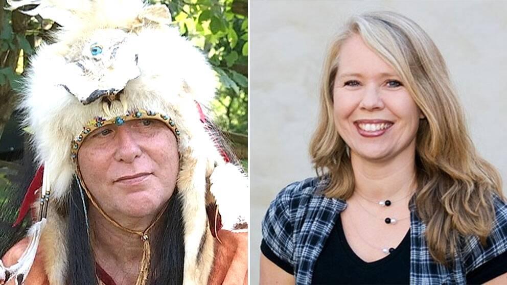 svensk utklädd till indian lotta ederth språkvårdare sveriges radio