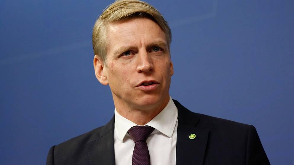 Konsumentminister Per Bolund (MP).