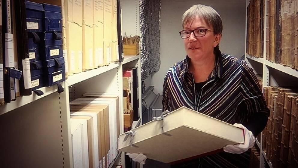 Karin Gustafsson arkivassistent