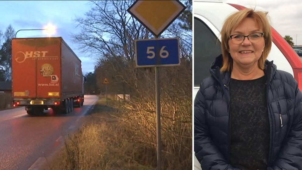 Carina Hermansson har tagit initiativ till den alternativa invigningen i Tärnsjö.