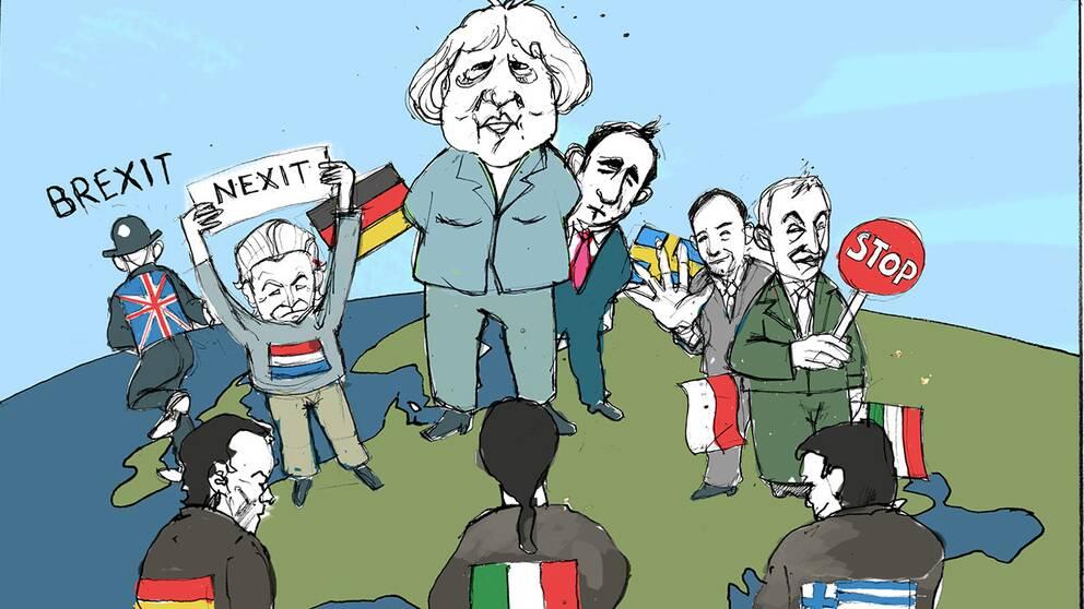 Eu s medlemsstater splittrade i relationen till ryssland