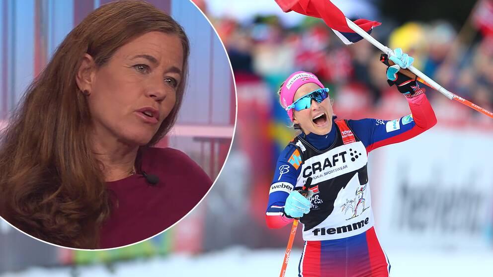 Therese Johaugs dopingskandal kastar en skugga över hela säsongen.