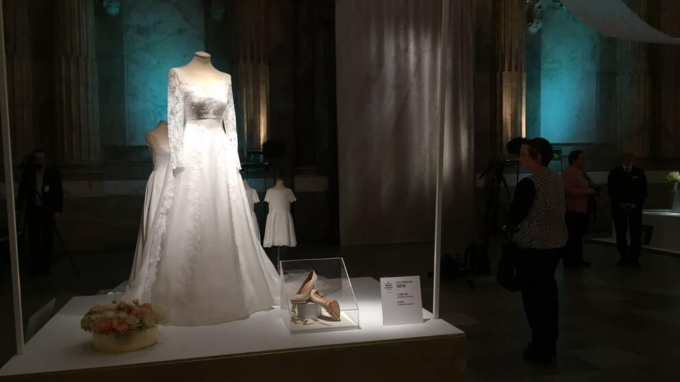 Prinsessan Sofias bröllopsklänning.