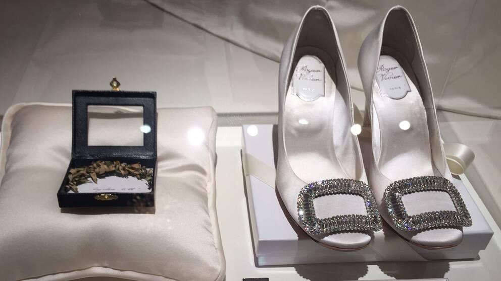 Prinsessan Victorias skor.
