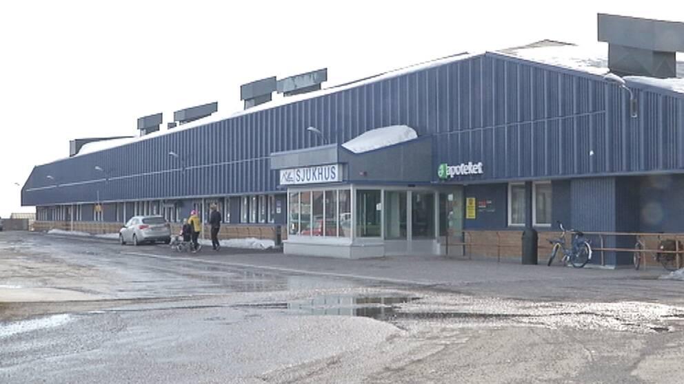 Exteriör Kiruna sjukhus