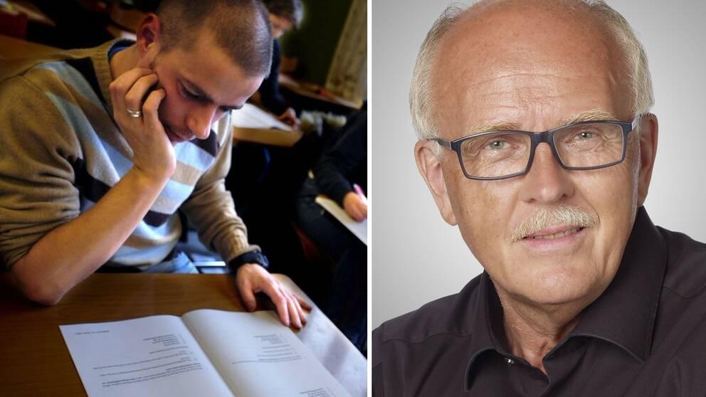 Lars-Axel Nordell är arg över att universitetet inte får betalt för hela läkarutbildningen