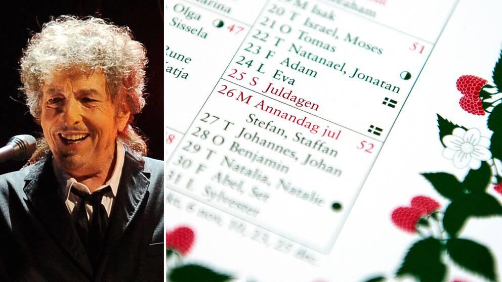 Bob Dylans åtaganden i Stockholm