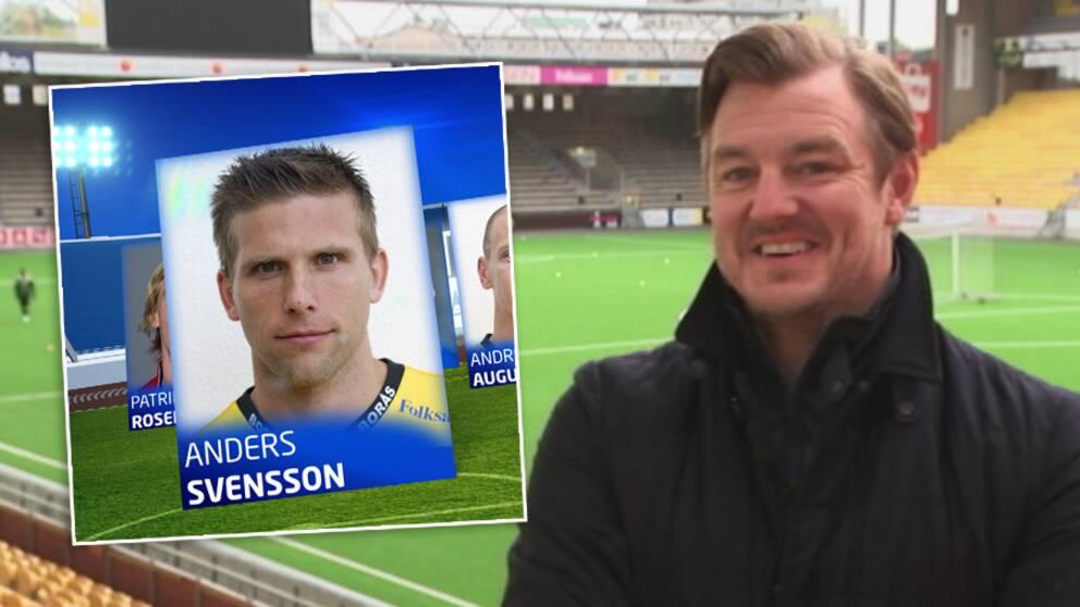 Anders svensson spelade 90 minuter