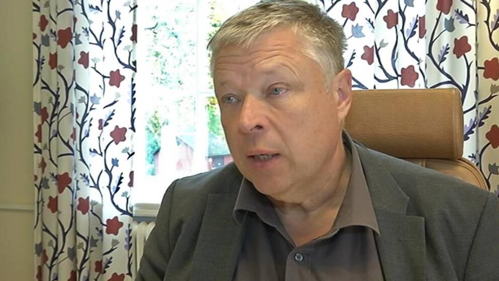 Åke Carlson (C), kommunalråd i Uppvidinge kommun