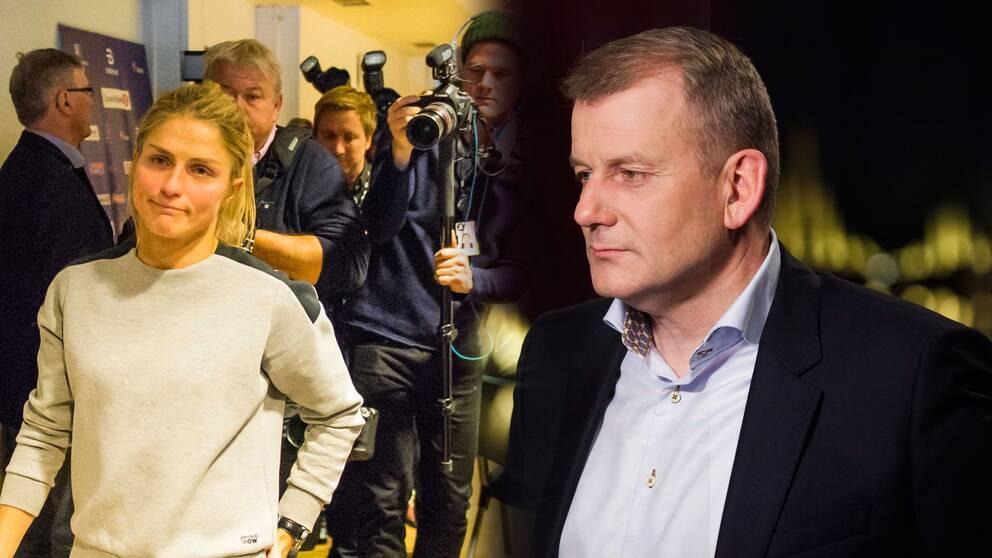Erik Röste, ordförande i norska skidförbundet, tänker inte avgå trots dopningsskandalerna.