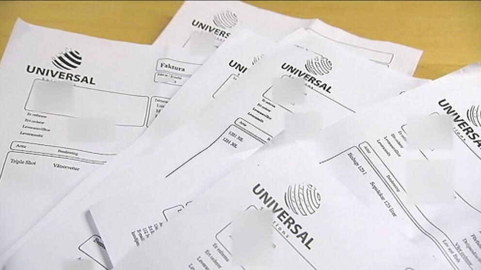 Universal bluffar svenska kommuner
