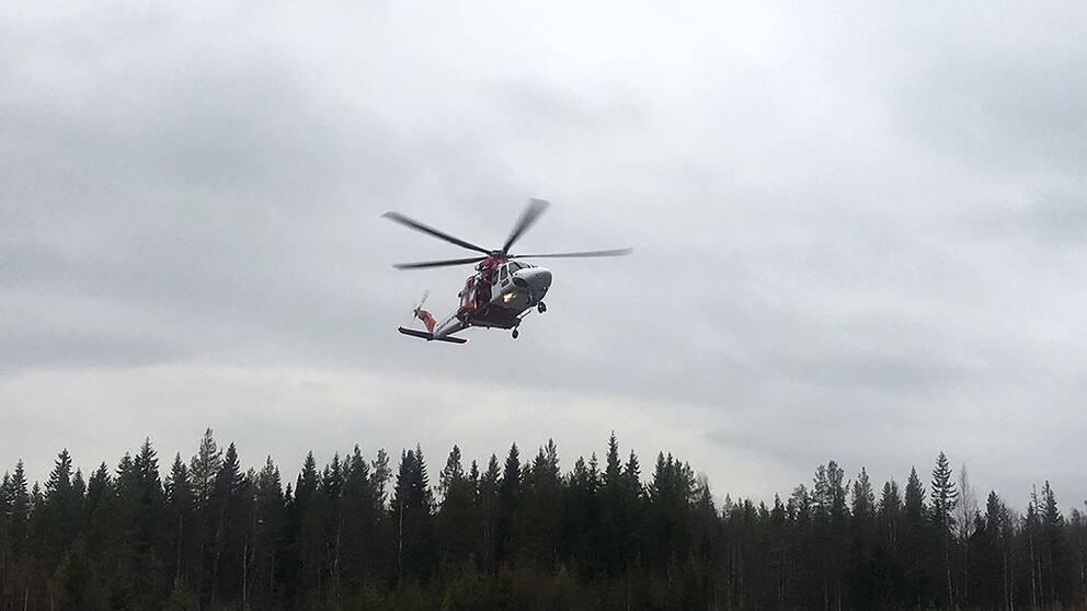sjöräddningshelikopter sjöräddningen