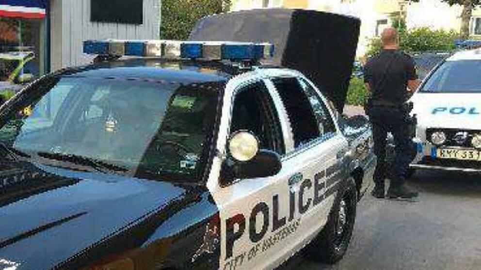 Har prejar polisen bilist av vagen