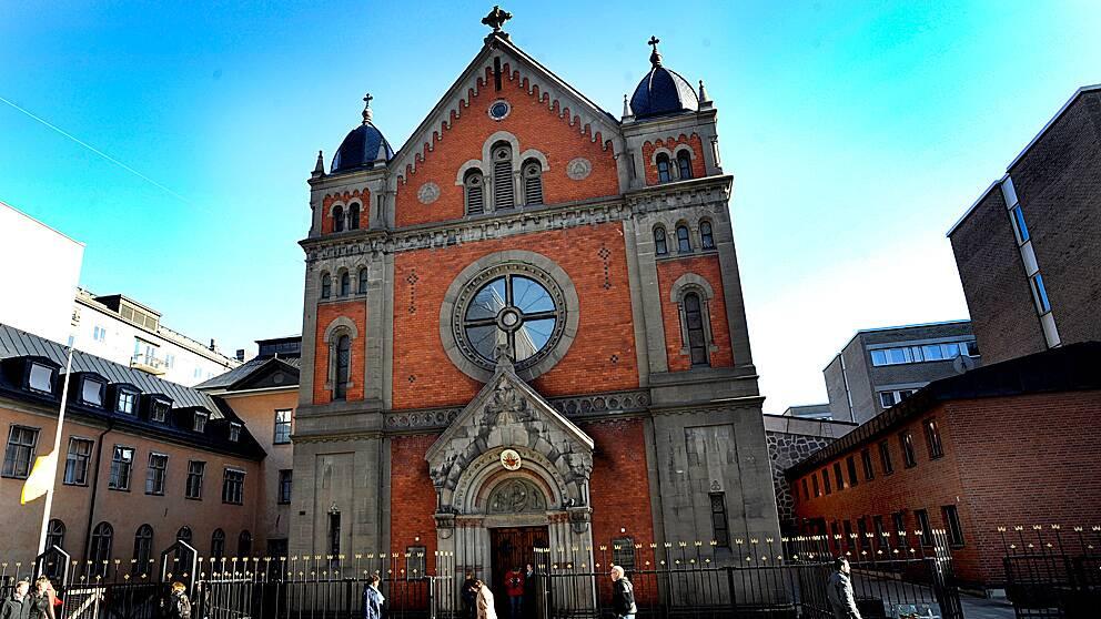 Katolska kyrkan på Folkungagatan i Stockholm.